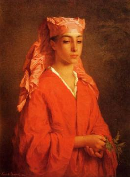 A North African Fellah Artwork by Henriette Browne