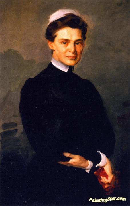 M. Adelaide Nutting Artwork by Cecilia Beaux