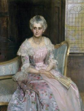 Mrs Griffiths Artwork by John Maler Collier