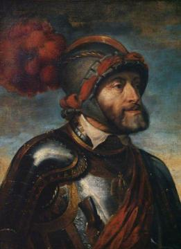 Emperor Charles V (after Titian) Artwork by Peter Paul Rubens