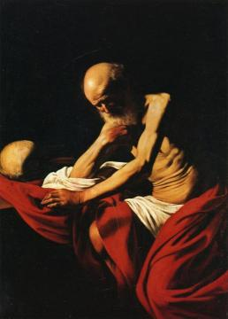 St. Jerome Artwork by Caravaggio