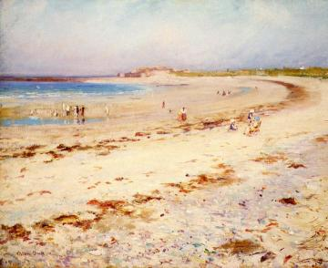 On the Beach, Normandy Artwork by Alson Skinner Clark