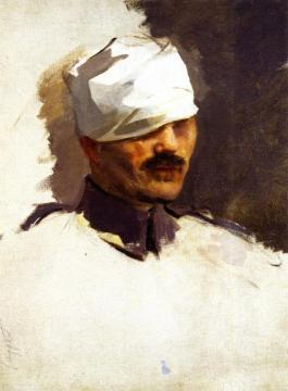 Lieutenant Jean-Julien Lamordant Artwork by Cecilia Beaux