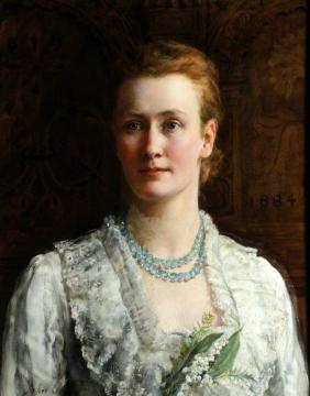 Blanche Parish, Lady Shuttleworth Artwork by John Maler Collier