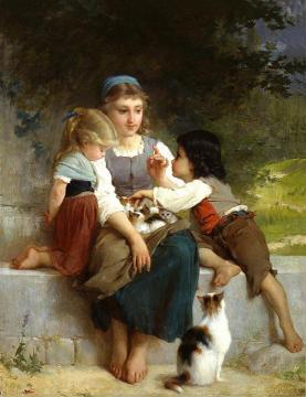The New Pets Artwork by Emile Munier