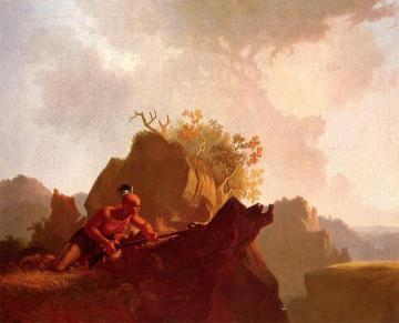The Concealed Enemy Artwork by George Caleb Bingham