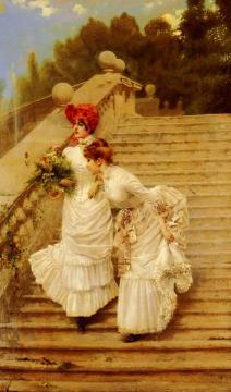 The Rendezvous Artwork by Vittorio Matteo Corcos