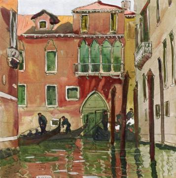 Venice Artwork by Jane Peterson