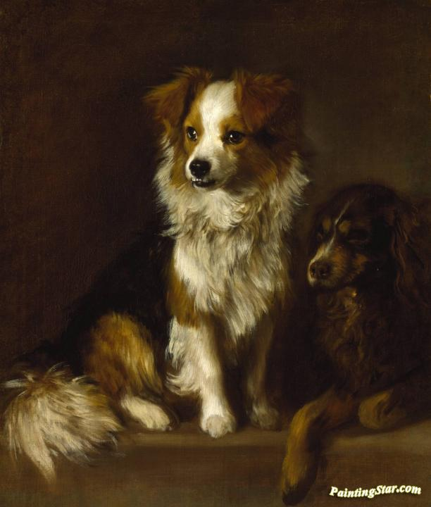 Tristram And Fox Artwork By Thomas Gainsborough Oil