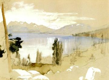 Tahoe Artwork by Thomas Moran