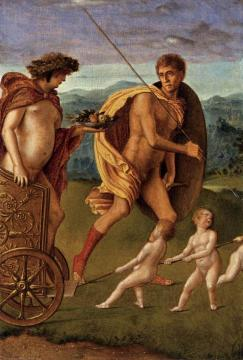 Four Allegories: Lust (or Perseverance) Artwork by Giovanni Bellini