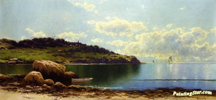 Seascape With Ships Artwork by Alfred Thompson Bricher