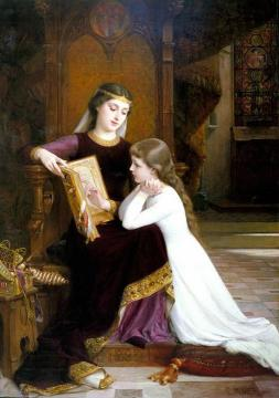 Long Ago Artwork by Emile Munier