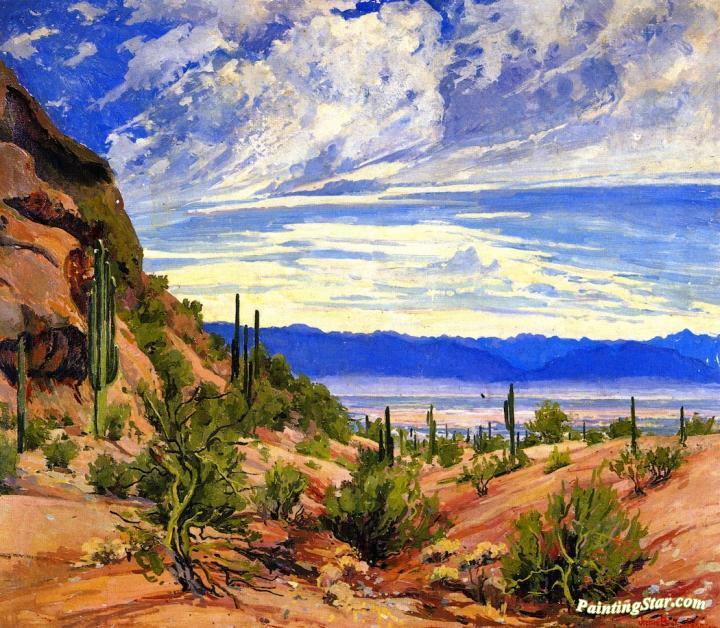 Washoe Wickiup Artwork By Maynard Dixon Oil Painting Amp Art