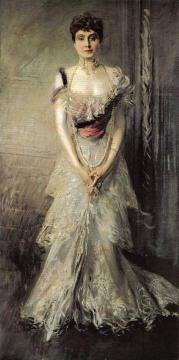 Portrait of Maria Eulalia of Spain Artwork by Giovanni Boldini