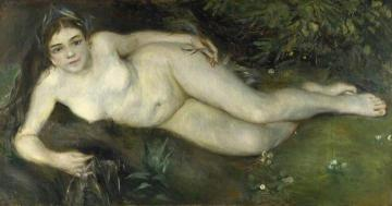 A Nymph by a Stream Artwork by Pierre Auguste Renoir