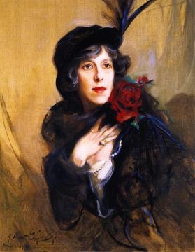 Elinor glyn artwork by philip alexius de laszlo oil - Divano philip art nova ...