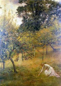 A Devonshire Orchard Artwork by John Maler Collier