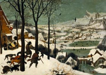 The Hunters In The Snow (winter) Artwork by Pieter Bruegel the Elder