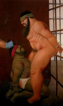Abu Ghraib 51 Artwork by Fernando Botero