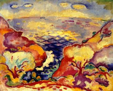 Port Miou Artwork by Georges Braque