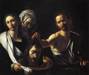 Salome with the Head of St. John the Baptist Artwork by Caravaggio