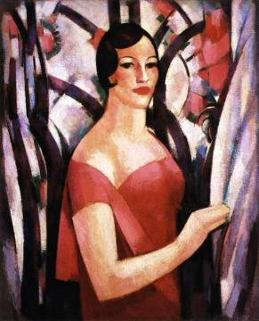 Voile Indienne Artwork by John Duncan Fergusson