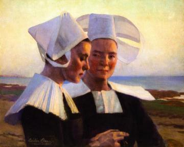 Twilight Confidences Artwork by Cecilia Beaux