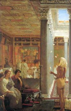 Egyptian Juggler Artwork by Sir Lawrence Alma-Tadema
