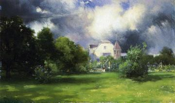 The Artist's Home - East Hampton, Long Island Artwork by Thomas Moran