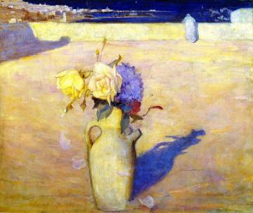 The Hot Sands, Mustapha Artwork by Charles Conder