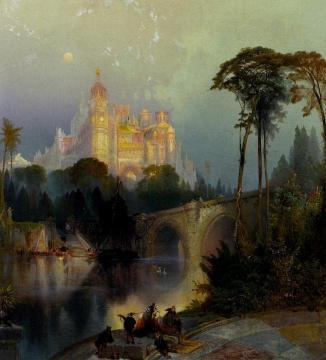 Fantastic Landscape Artwork by Thomas Moran