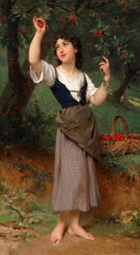 The Cherry Tree Artwork by Emile Munier