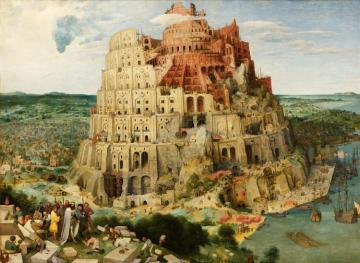 The Tower Of Babel Artwork by Pieter Bruegel the Elder