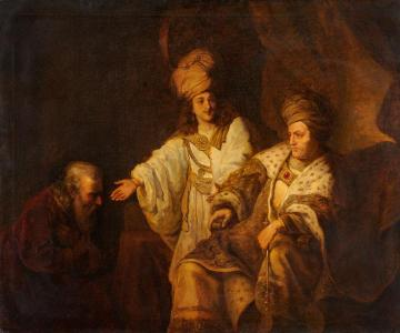 Petitioners before King David Artwork by Ferdinand Bol