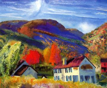 My House, Woodstock Artwork by George Wesley Bellows