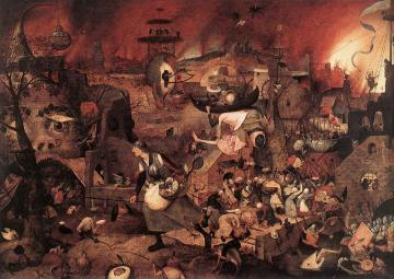 Dulle Griet (Mad Meg) Artwork by Pieter Bruegel the Elder