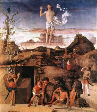 Resurrection of Christ Artwork by Giovanni Bellini