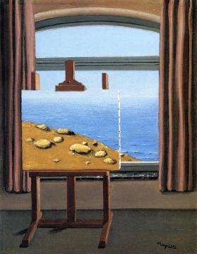 La condition humaine Artwork by Rene Magritte