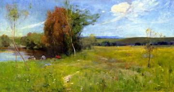 Spring Artwork by Sir Arthur Streeton