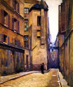 Paris Artwork by Alson Skinner Clark
