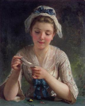 The Letter Artwork by Emile Munier