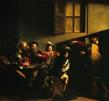 The Calling Of St Matthew Artwork by Caravaggio