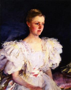 Mrs. George W. Childs Drexel (Mary Irick) Artwork by Cecilia Beaux