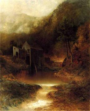 The Old Mill Artwork by Ralph Albert Blakelock