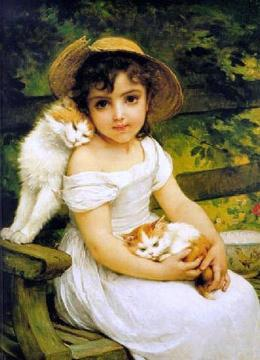 Best Friends Artwork by Emile Munier