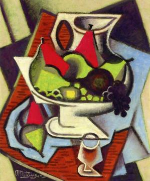 Still LIfe Artwork by Jean Metzinger