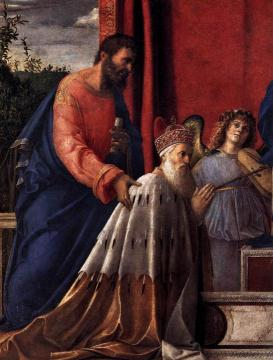 Barbarigo Altarpiece (detail) Artwork by Giovanni Bellini