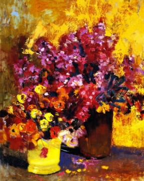 Floral Still Life Artwork by Alson Skinner Clark