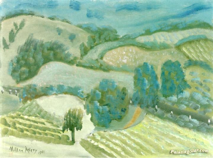 Vermont Artwork by Milton Avery